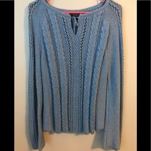 AMERICAN EAGLE sweater, blue, size XL
